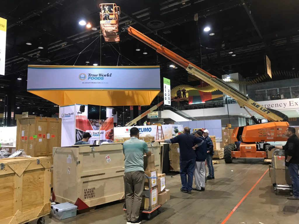 Modular Trade Show Booth Rental at National Restaurant Association Show (NRA Show) 2018