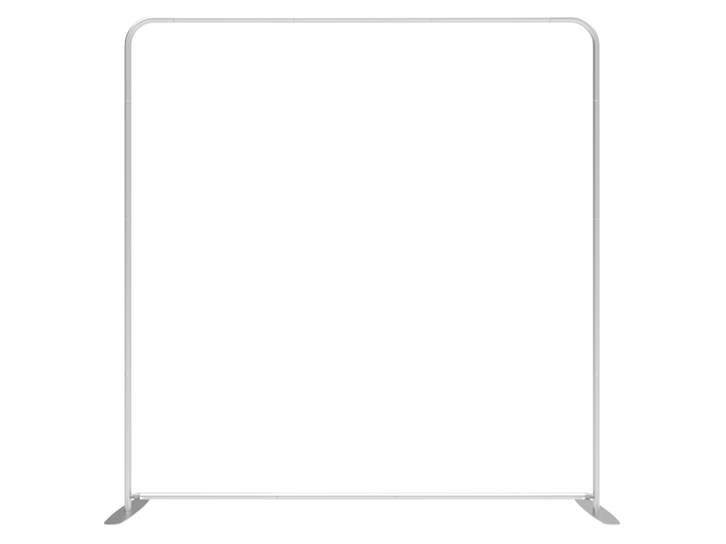 Beaumont & Co.-8ft-Straight-Tension-Fabric-Display_TF-L-01_Aluminum-Snap-Tube-Frame-800x600