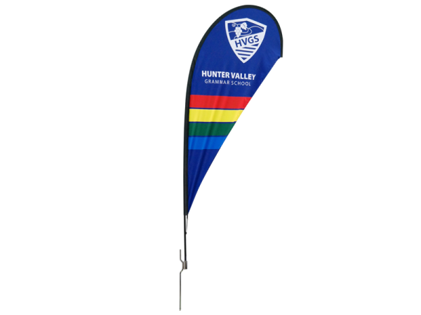 Beaumont & Co.-8ft-Teardrop-Flying-Banner-with-Ground-Spike_FB-T-02A_Front-800x600