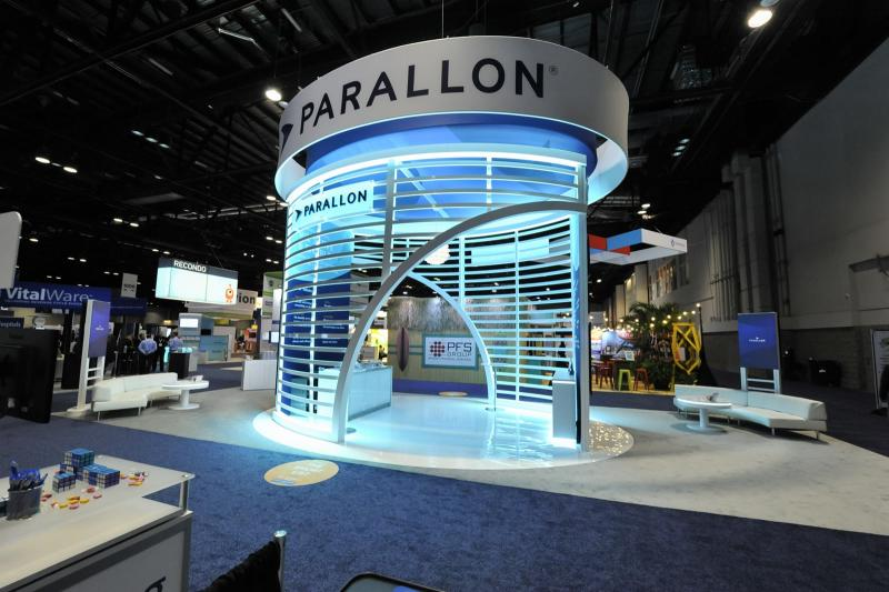 Custom trade show exhibit parallon
