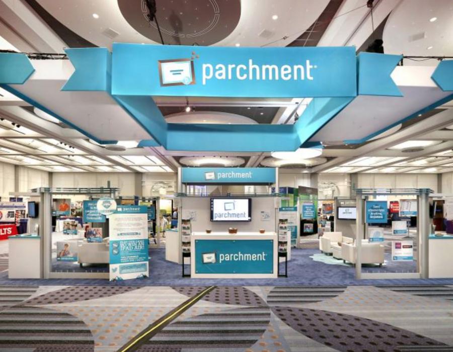Parchment Trade Show Exhibit