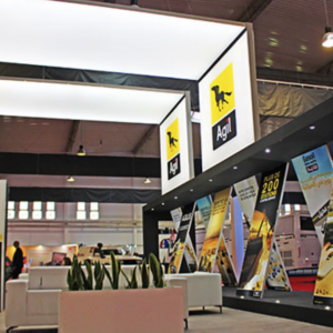 Custom trade show exhibit