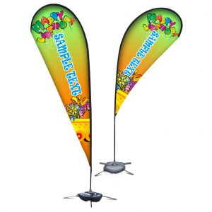 Teardrop Flag Banners Small 320cm Pgfb01